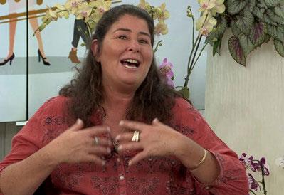 סמדר סבג מנהלת סחלבים בשרון
